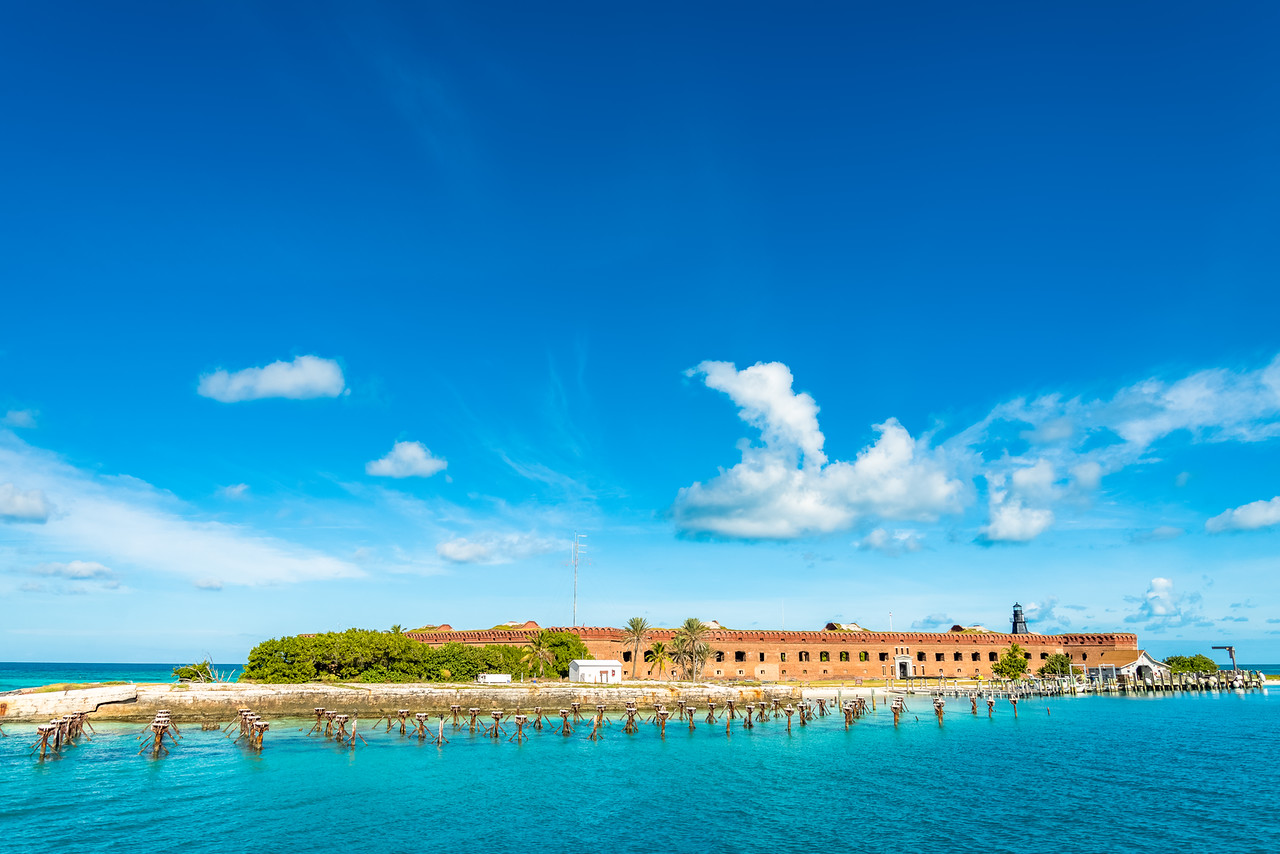 Fort Jefferson at the Dry Tortugas