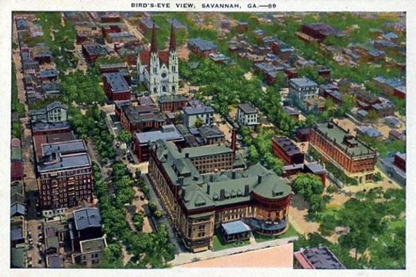 A Bird's-Eye View of Savannah