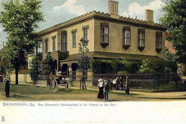 General Sherman's Headquarters