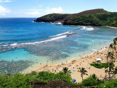 Hanauma Bay on Oahu