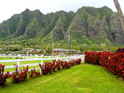 Kualoa Ranch on Oahu, Hawaii