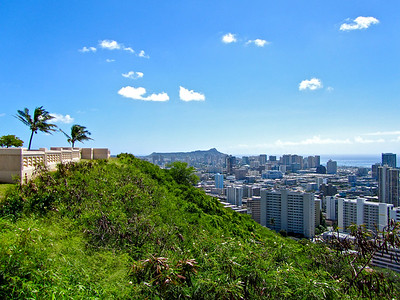 View of Honolulu, Hawaii