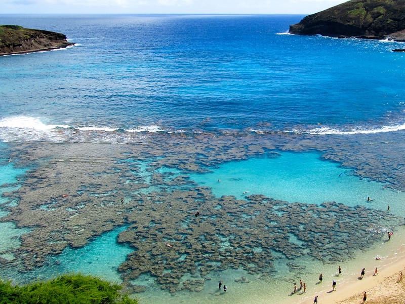 Hanauma Bay on Oahu