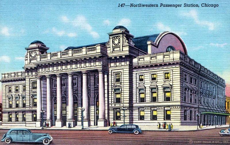 Northwestern Passenger Station