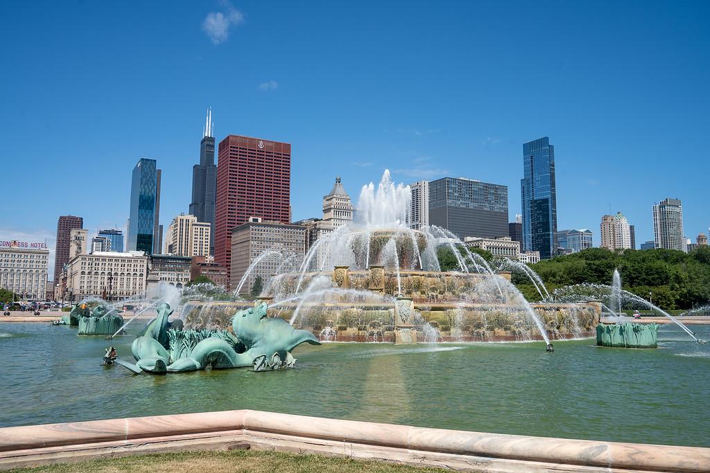 Buckingham Fountain in Chicago