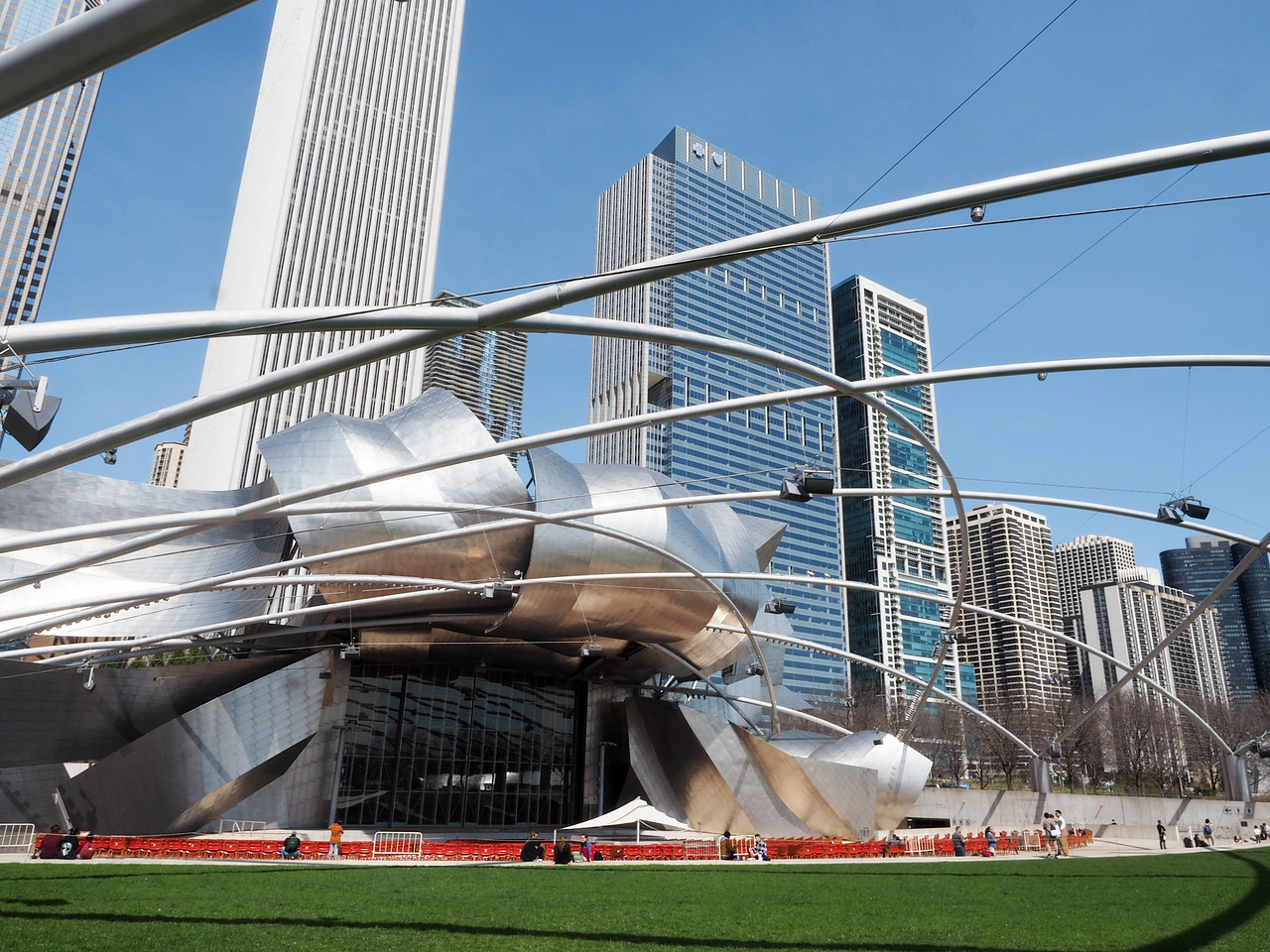 Jay Pritzker Pavilion in Chicago