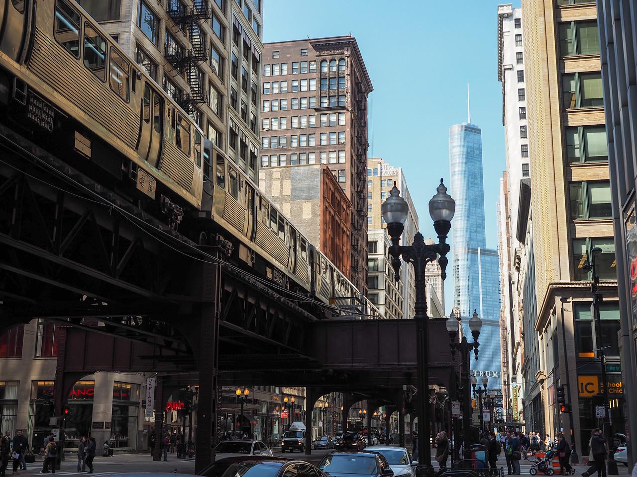 """The """"El"""" in Chicago"""