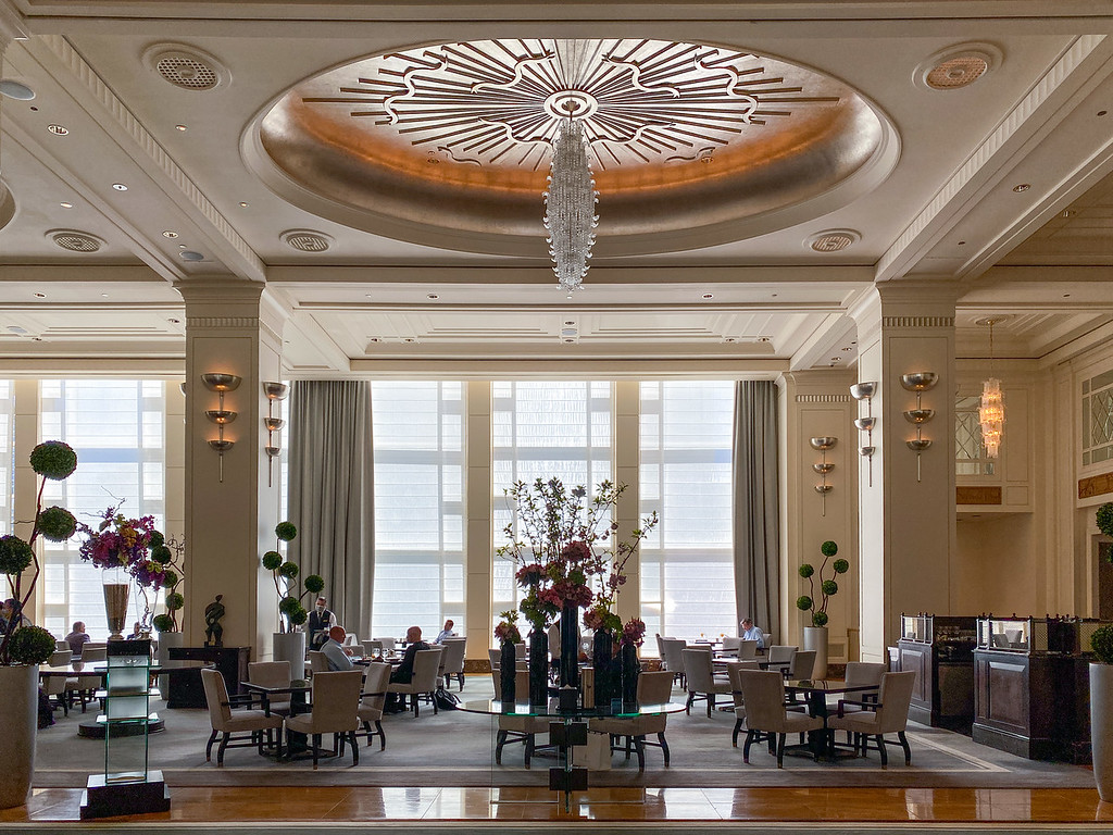 The Lobby at the Peninsula hotel in Chicago