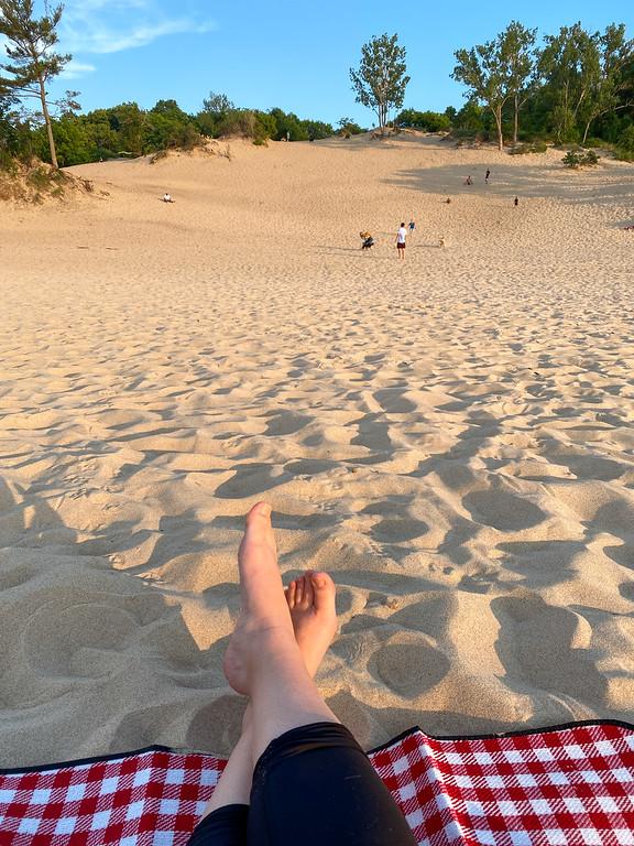 Picnic at Porter Beach