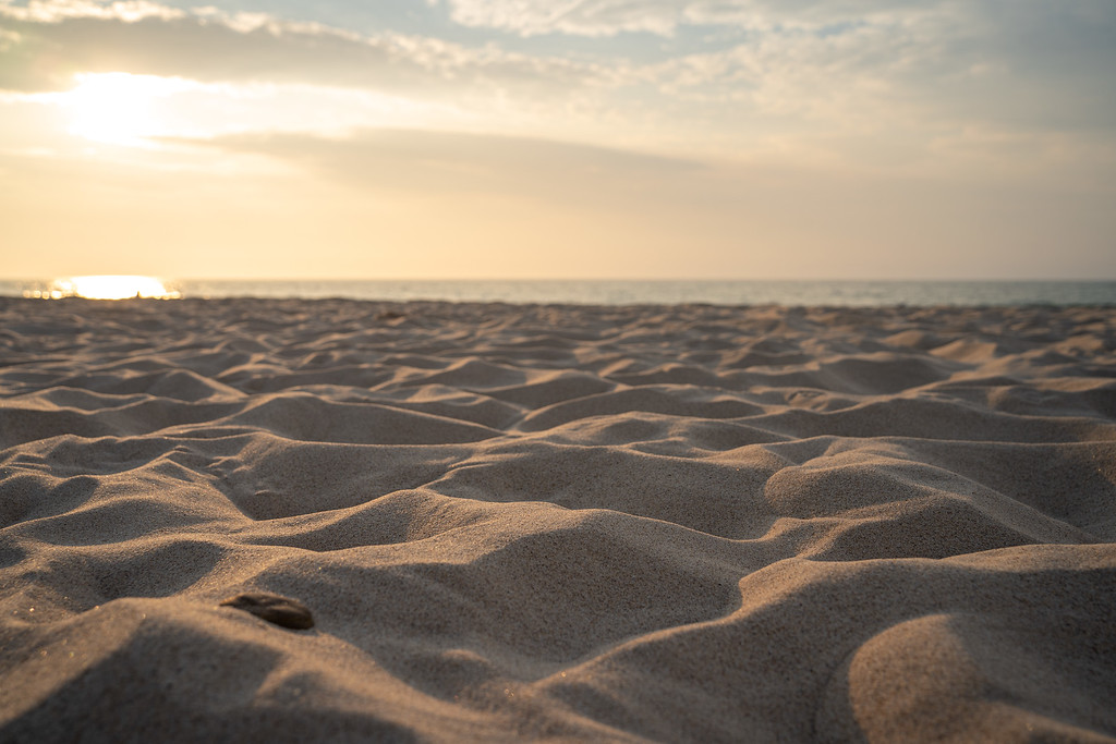 Sand at Porter Beach