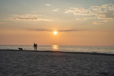Sunset at Indiana Dunes National Park