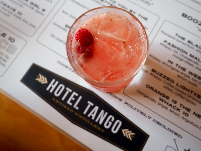 Cocktails at Hotel Tango
