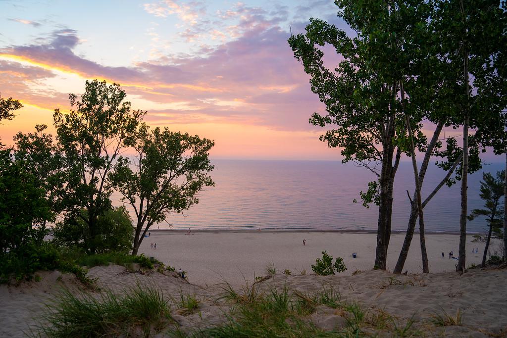 Indiana Dunes sunset