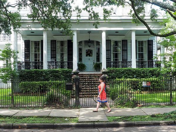 New Orleans Garden District architecture