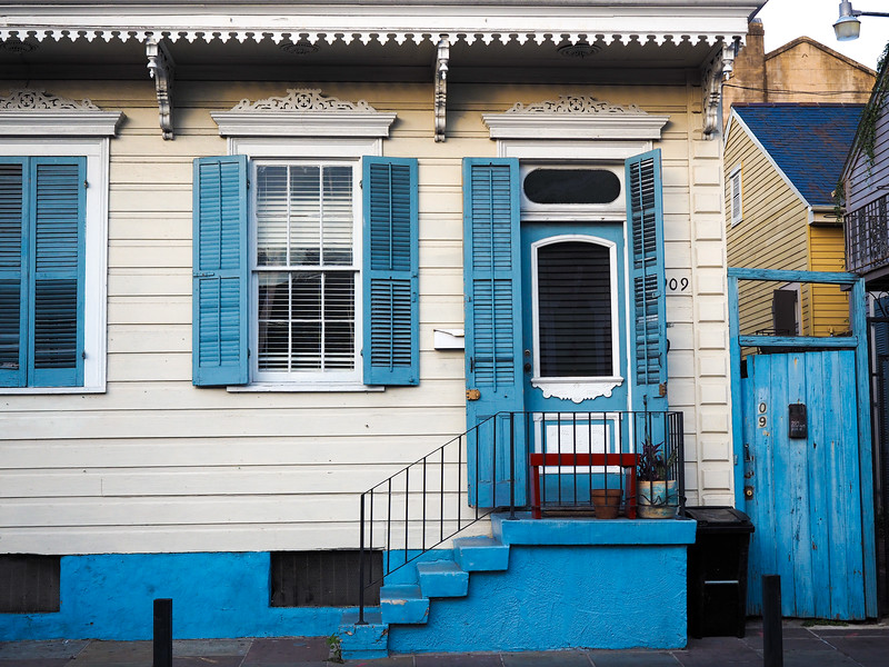 New Orleans shotgun house
