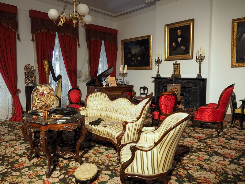 Inside the 1850 House in New Orleans