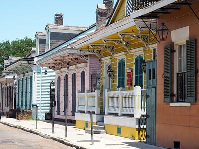 St. Ann Street in New Orleans