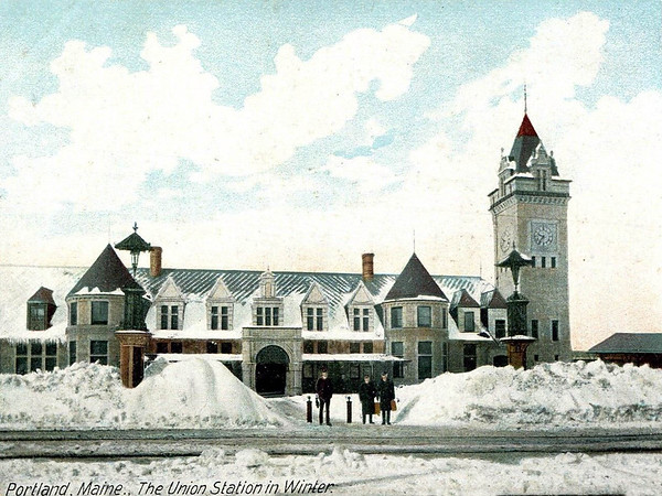 Union Station in Winter