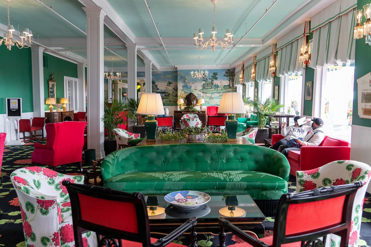 The Grand Hotel Parlor