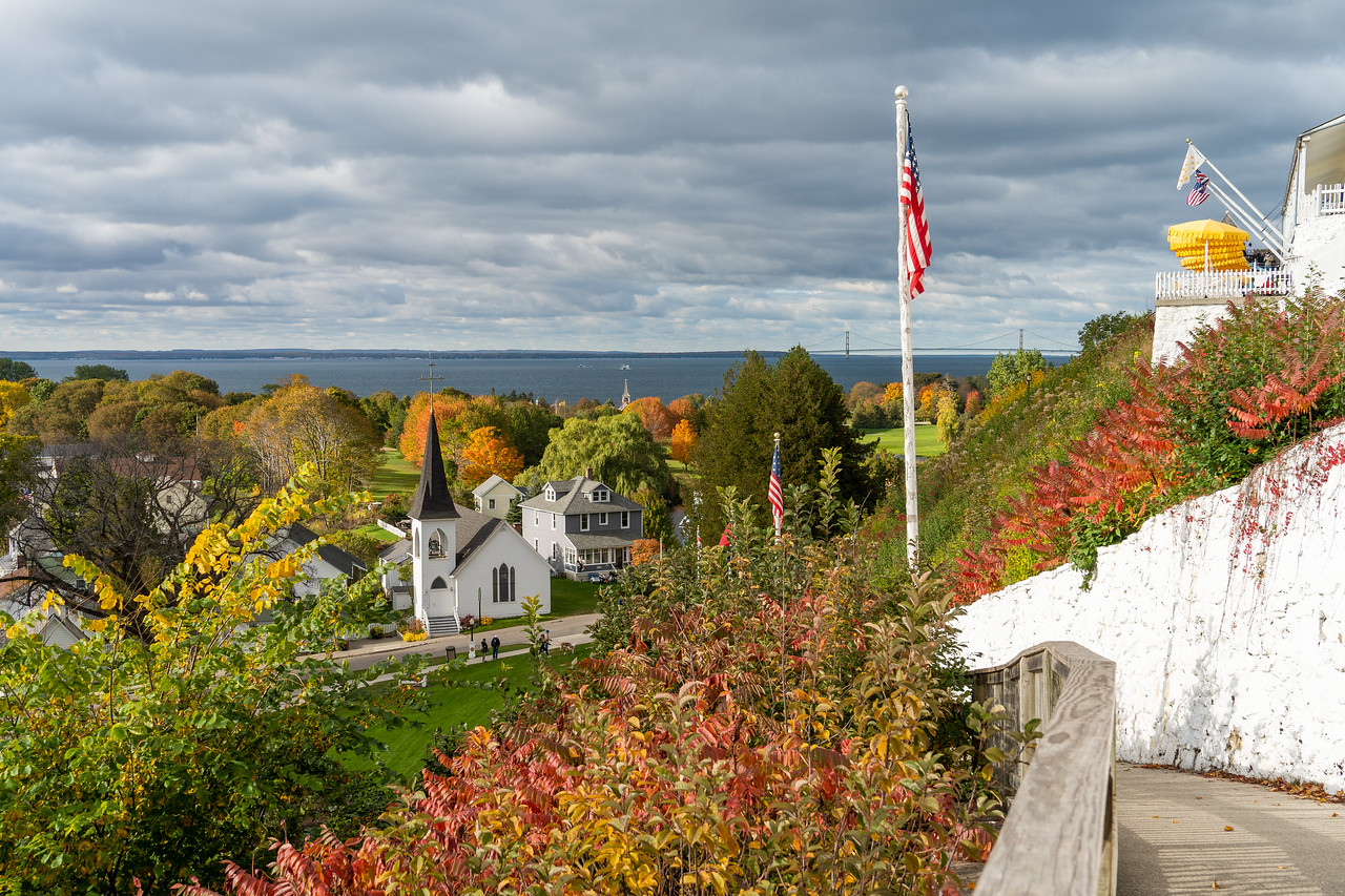 View of Mackinac Island