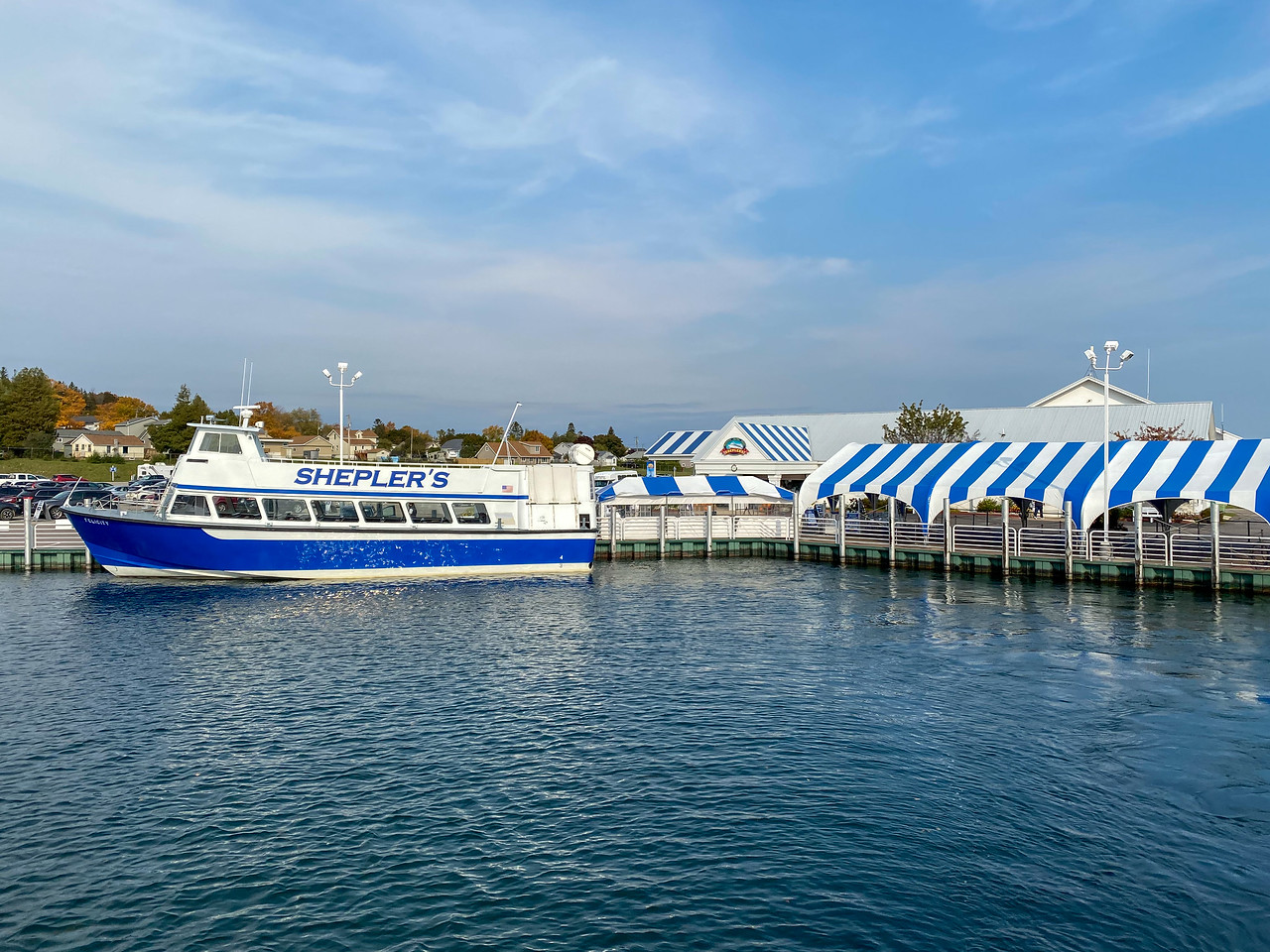 Shepler's Ferry to Mackinac Island