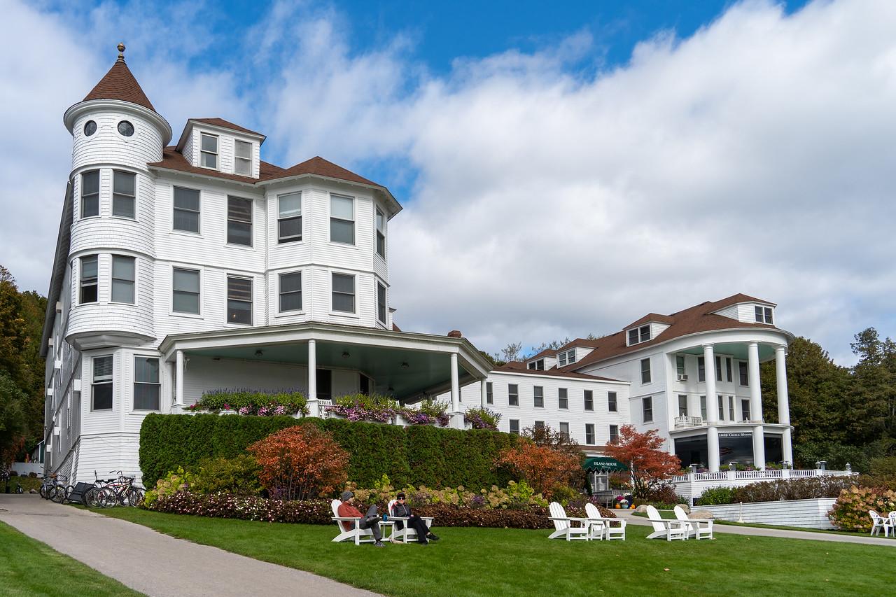 Island House Hotel on Mackinac Island
