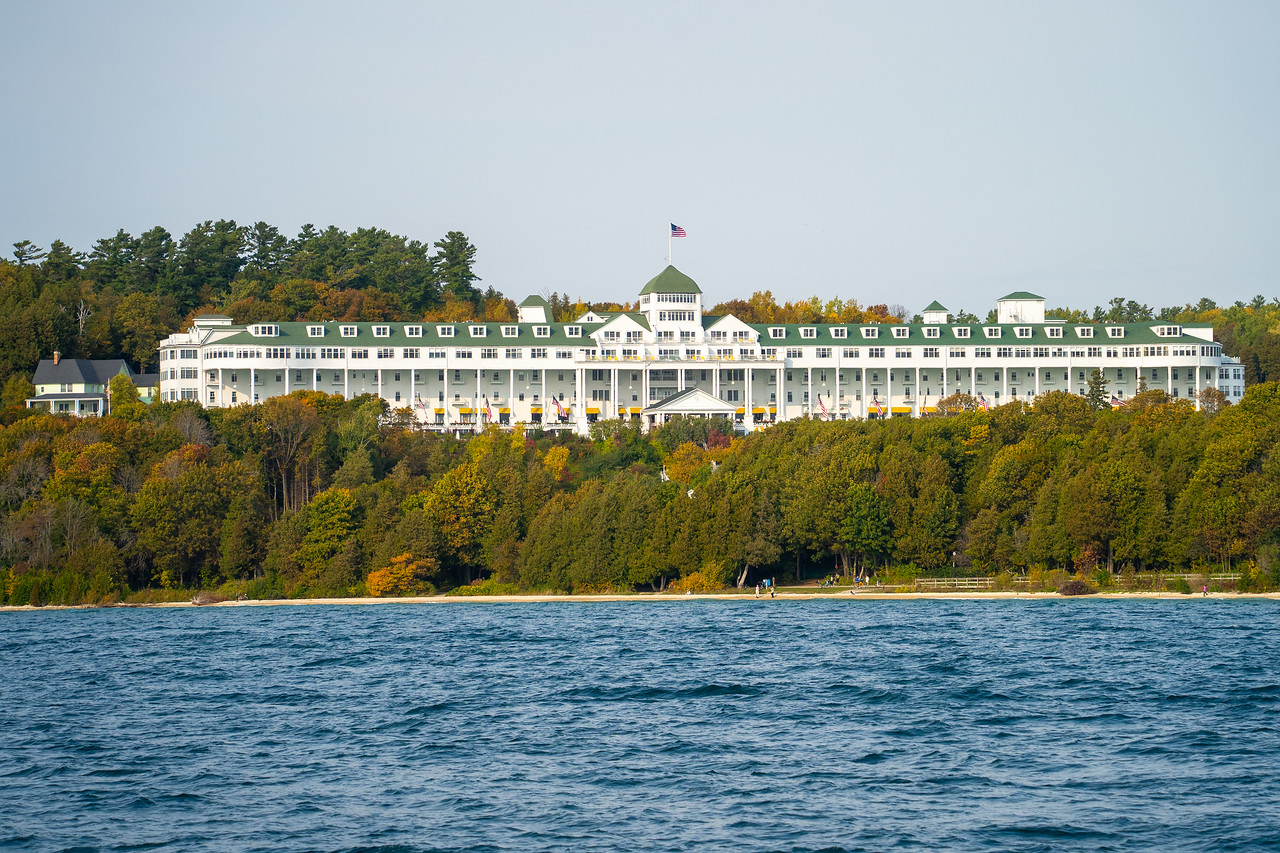 The Grand Hotel from the water