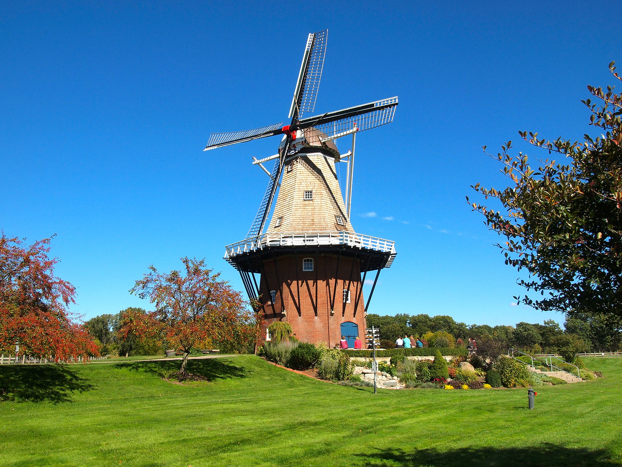 Windmill in Holland, Michigan