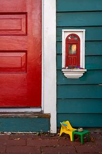Fairy door in Ann Arbor, Michigan