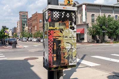 Street art in Ann Arbor