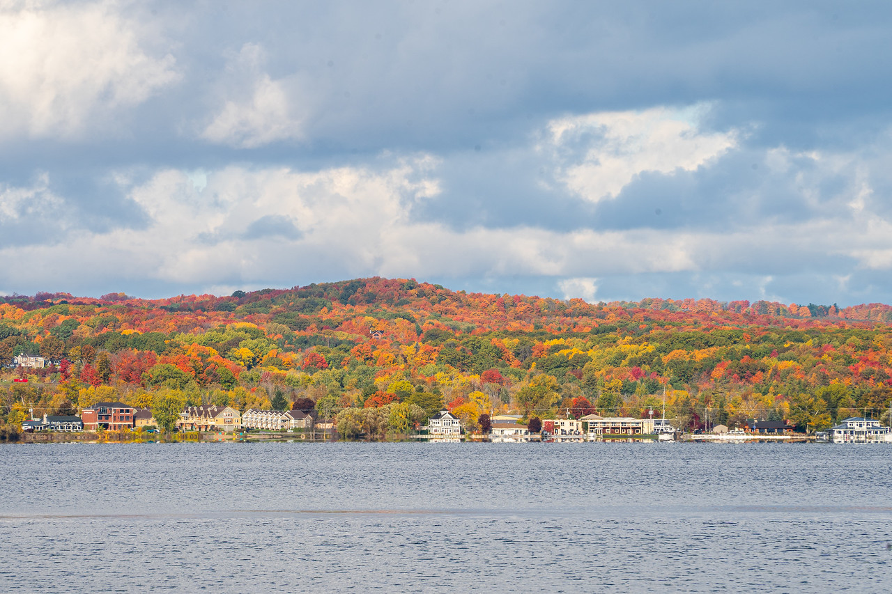 Traverse City in the fall
