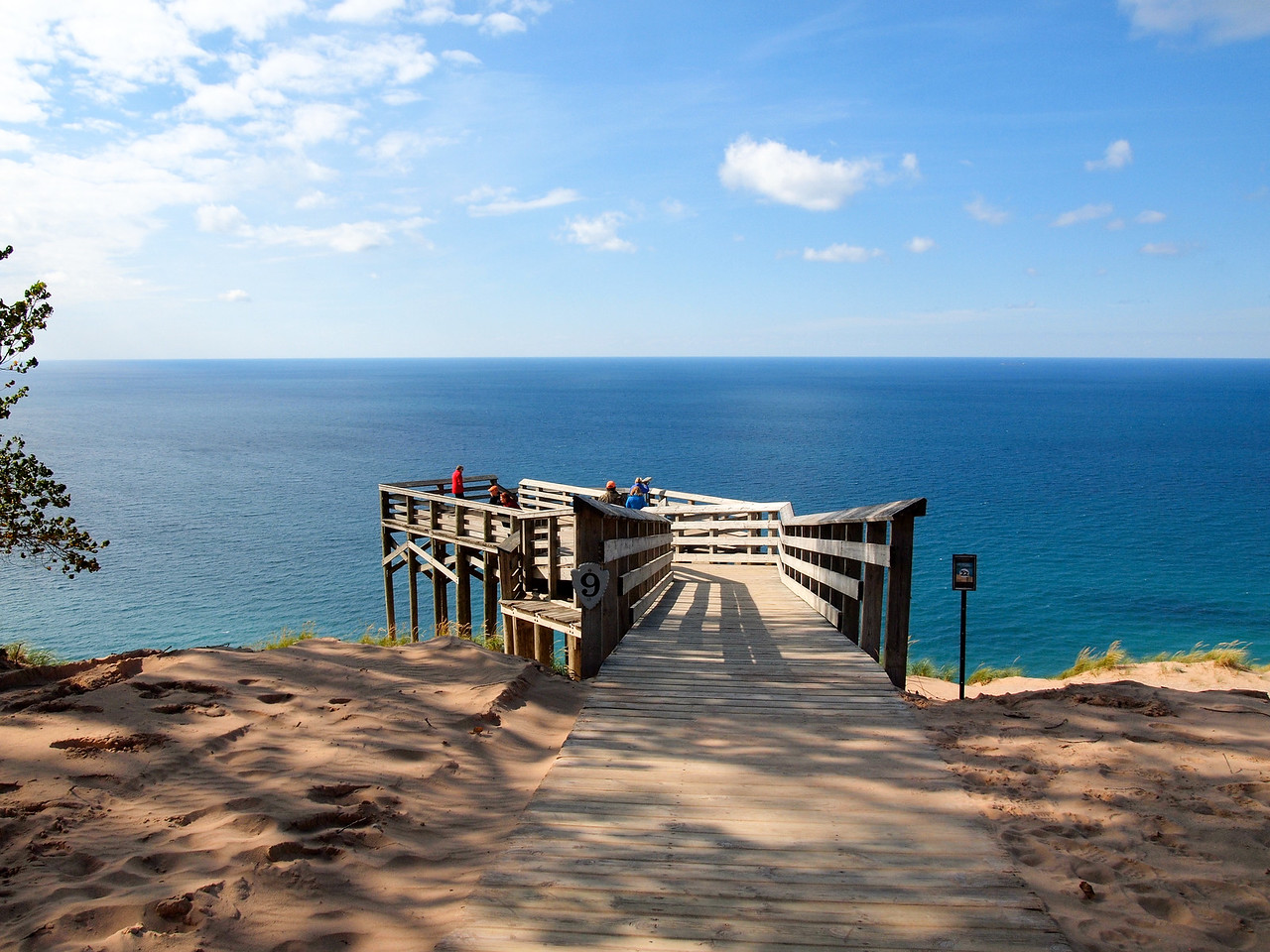 Sleeping Bear Dunes viewpoint