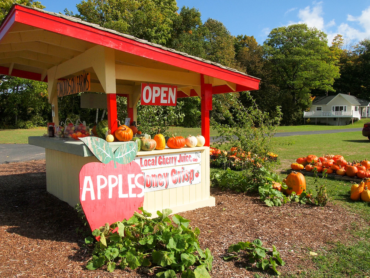 Old Mission Peninsula farm stand
