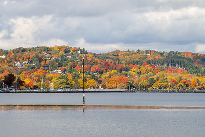Fall colors in Traverse City, Michigan