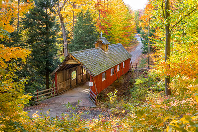 Loon Song Covered Bridge