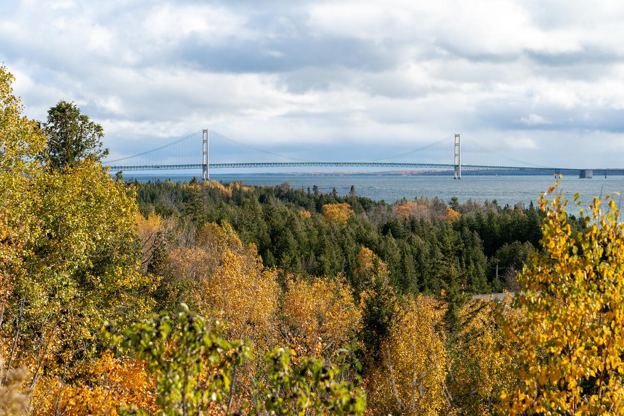 Mackinac Bridge view
