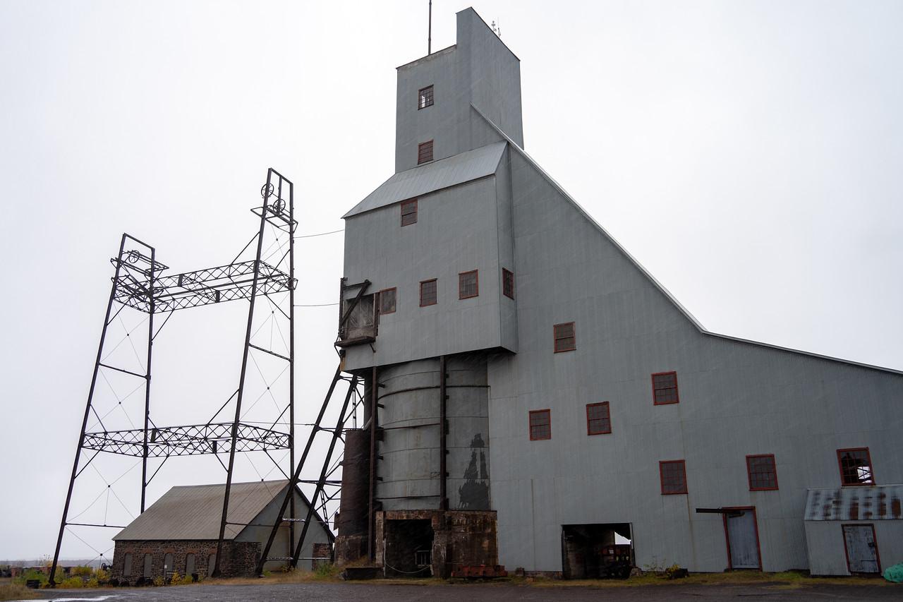 Quincy Mine on the Keweenaw Peninsula