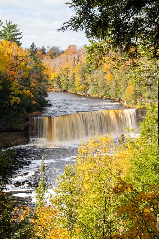 Tahquamenon Falls in fall