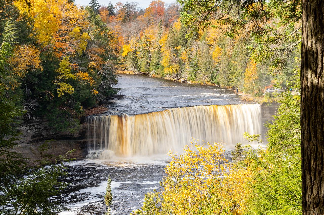 Upper Tahquamenon Falls in fall