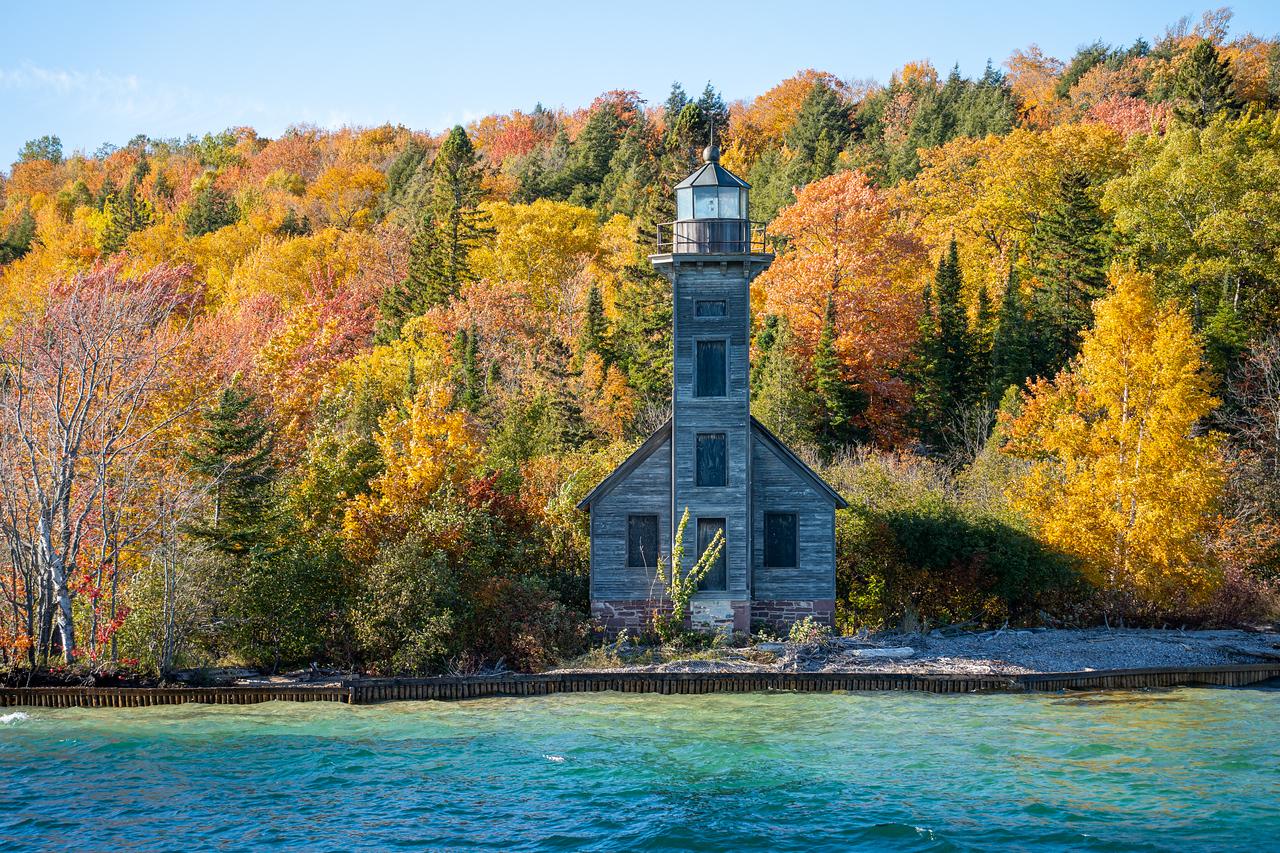 Grand Island lighthouse