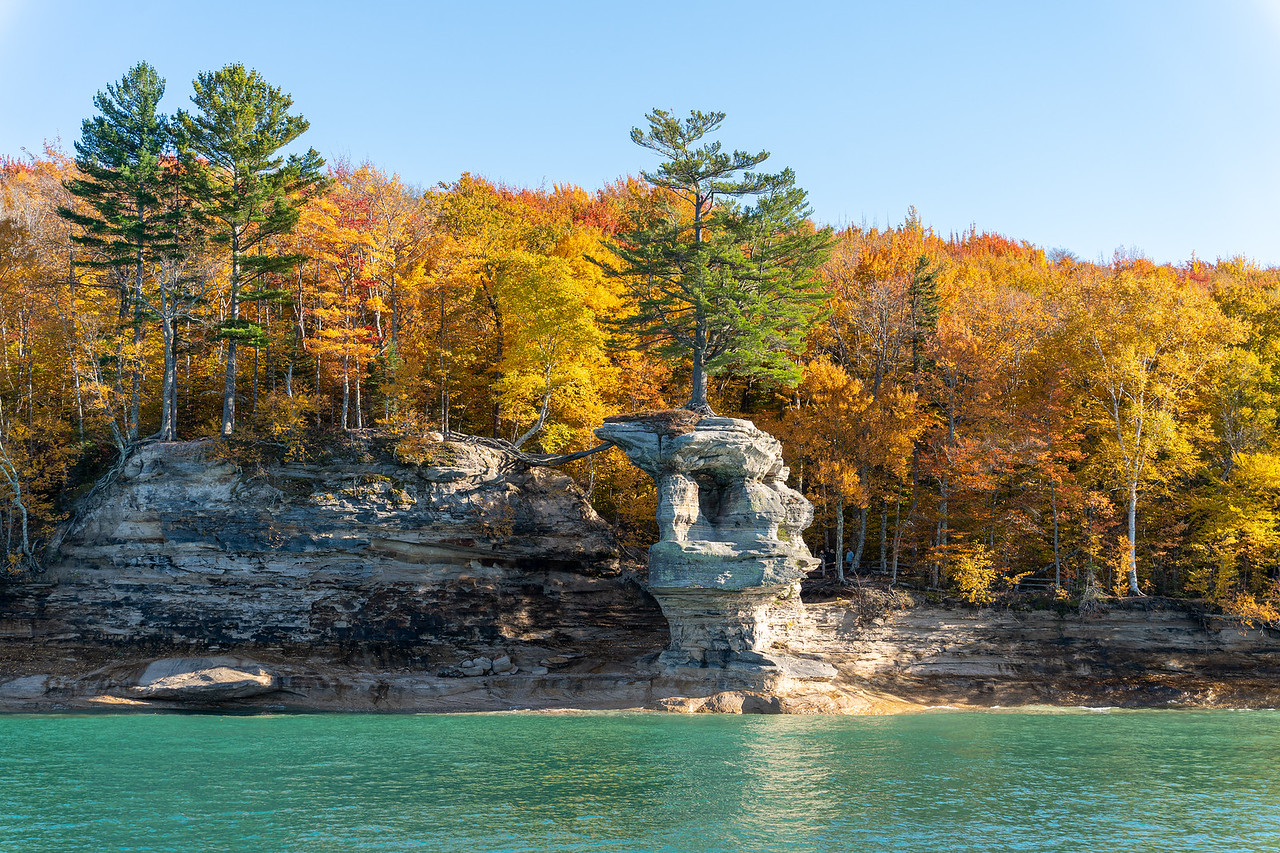 Chapel Rock at Pictured Rocks