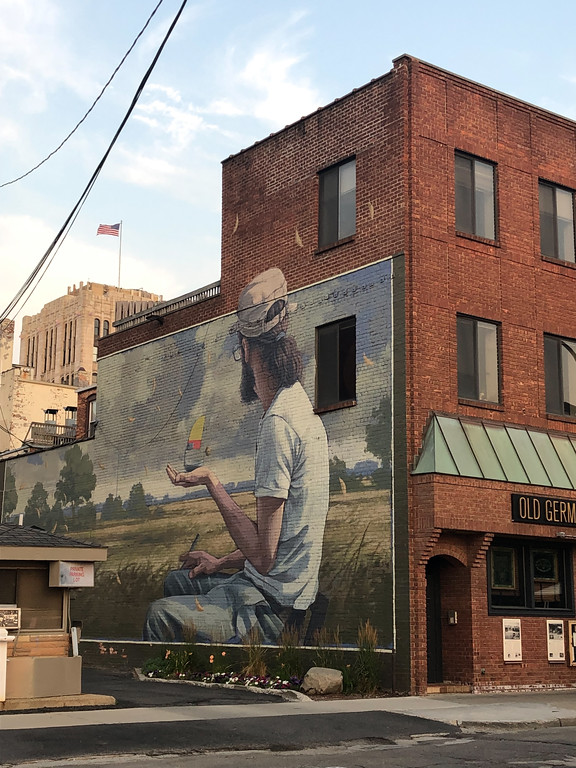 Mural in downtown Ann Arbor