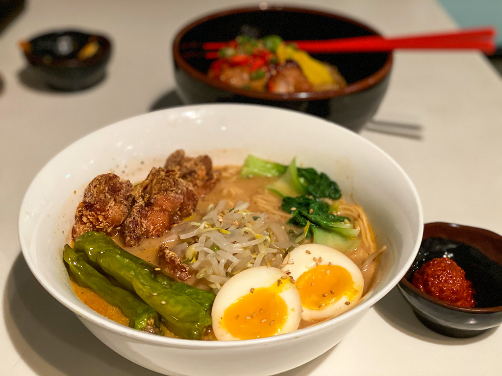 Ramen from Slurping Turtle in Ann Arbor