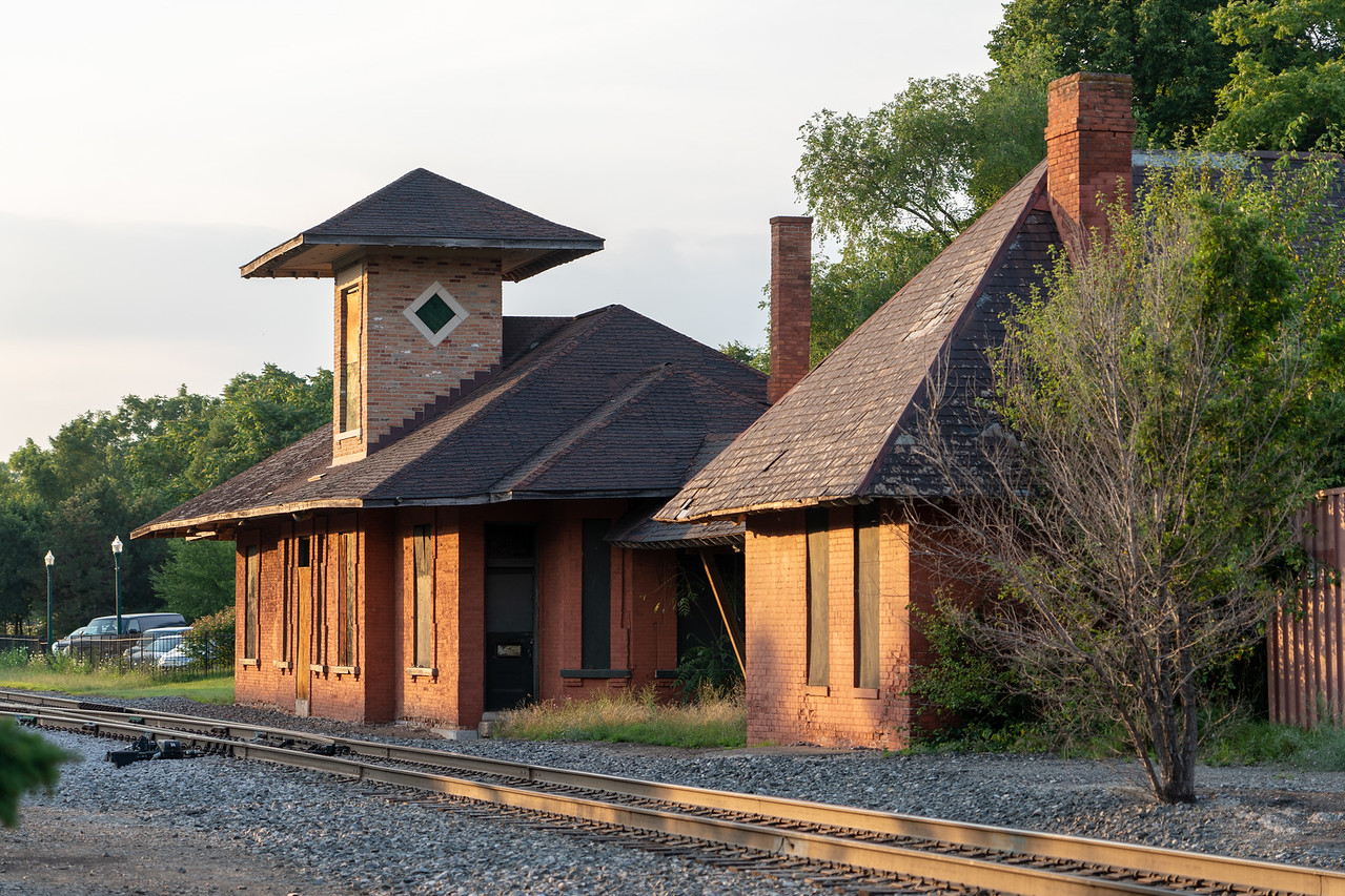 Ypsilanti train depot