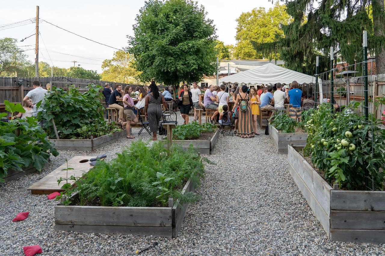 Cultivate beer garden