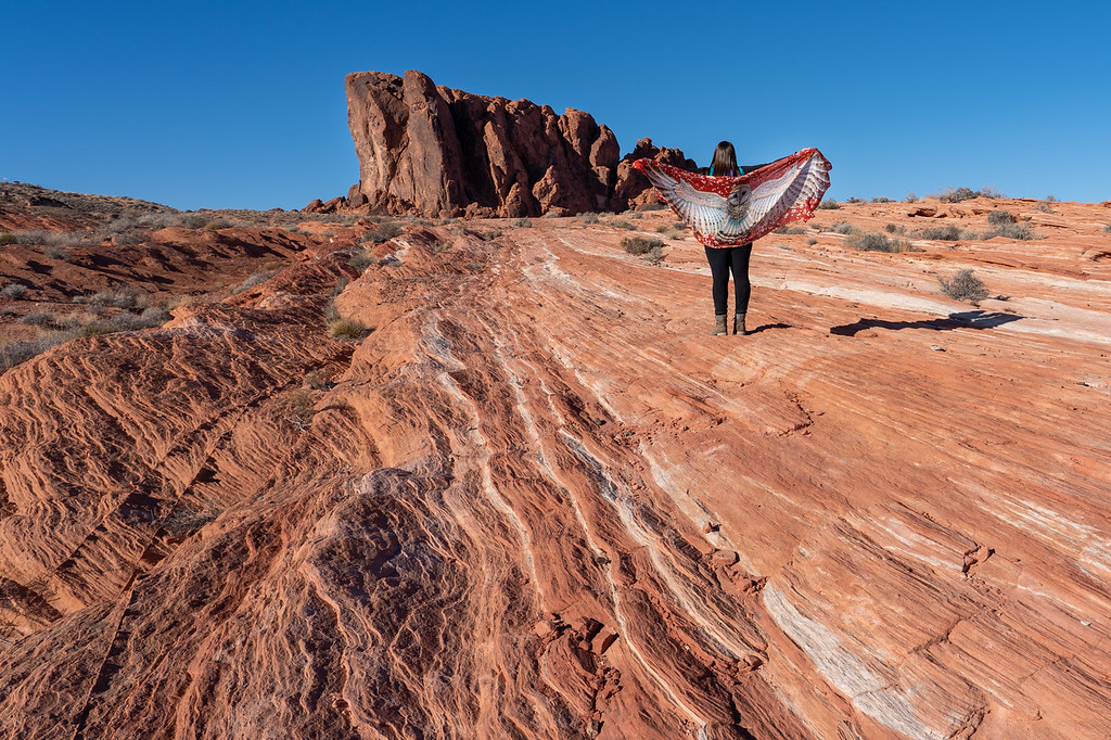 Fire Wave trail at Valley of Fire State Park