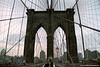 The Brooklyn Bridge, Manhattan, New York, U.S.A.