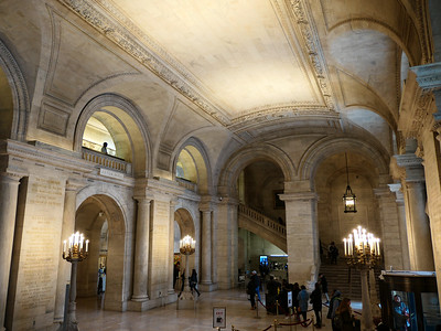 New York Public Library entry