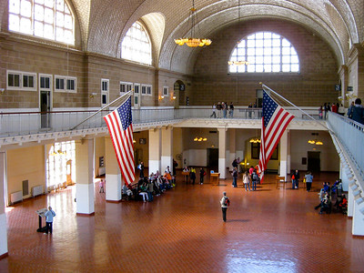 Ellis Island Immigration Hall