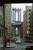 The Manhattan Bridge, Manhattan, New York, U.S.A.